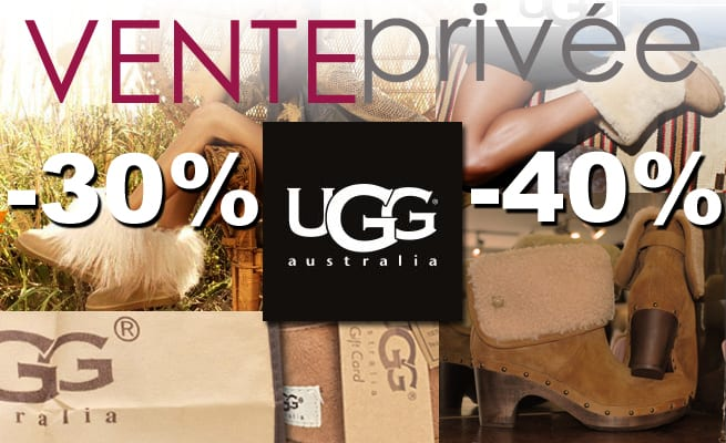 vente privée UGG