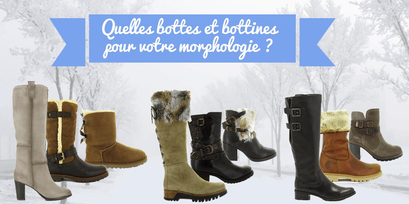morphologie bottes bottines
