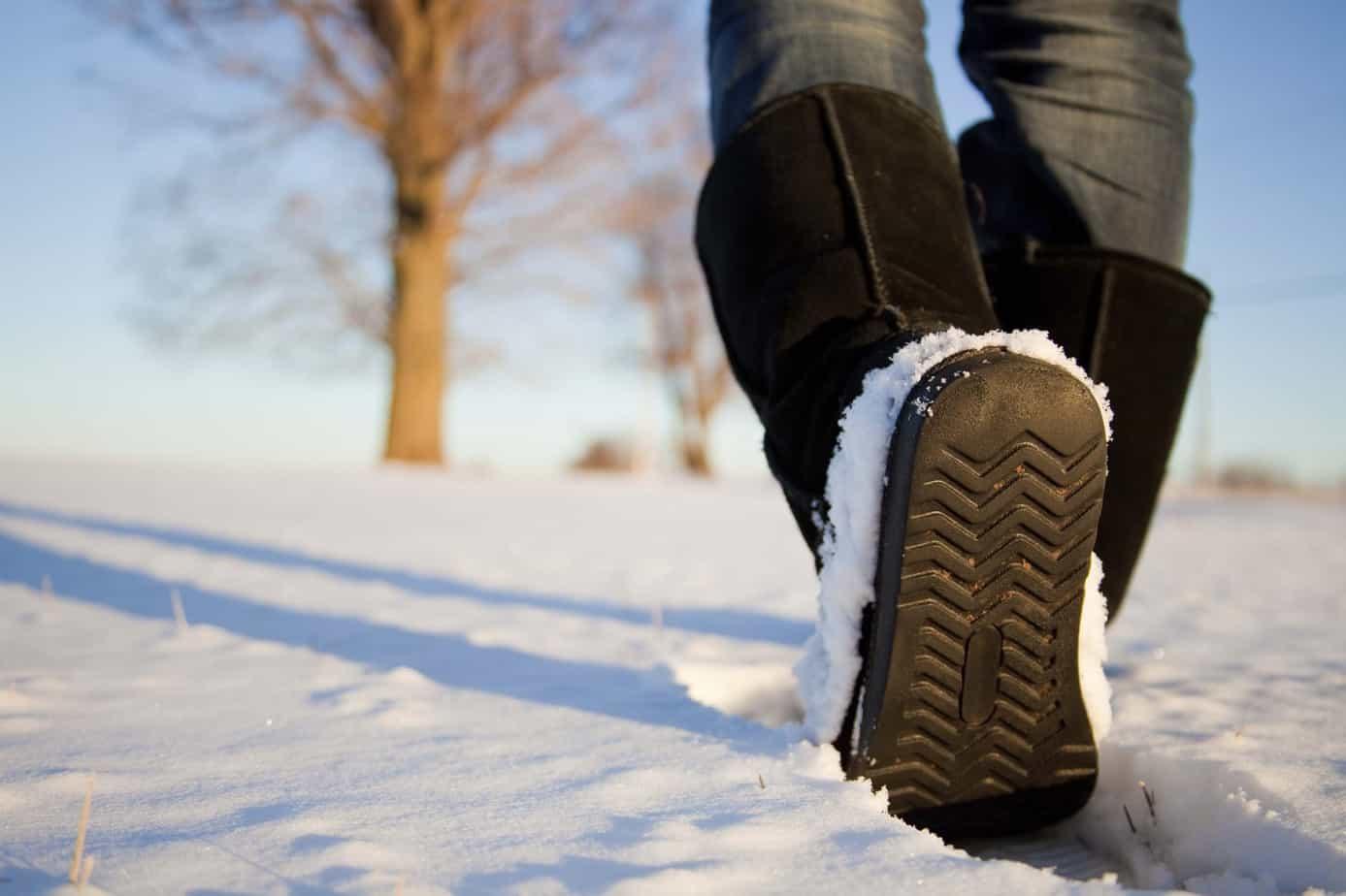 les chaussuresà emporter vacances d'hiver