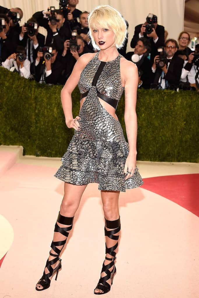 Gala Met chaussures : Taylor Swift