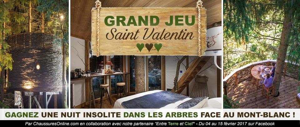 Grand jeu Saint Valentin - Chaussuresonline.com