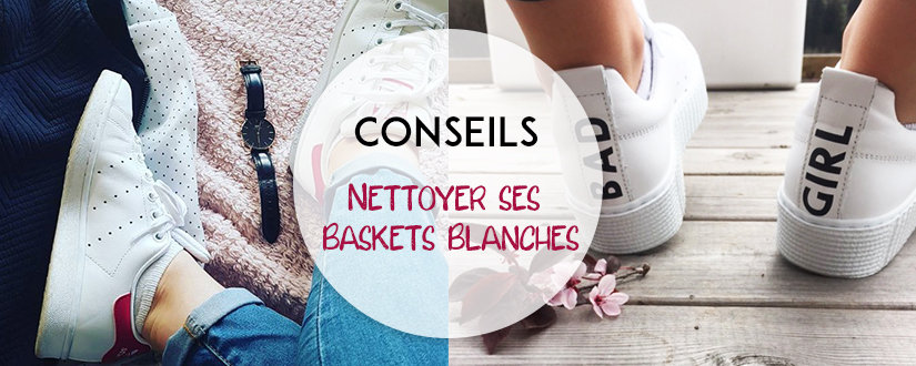 Titre Baskets Blanches