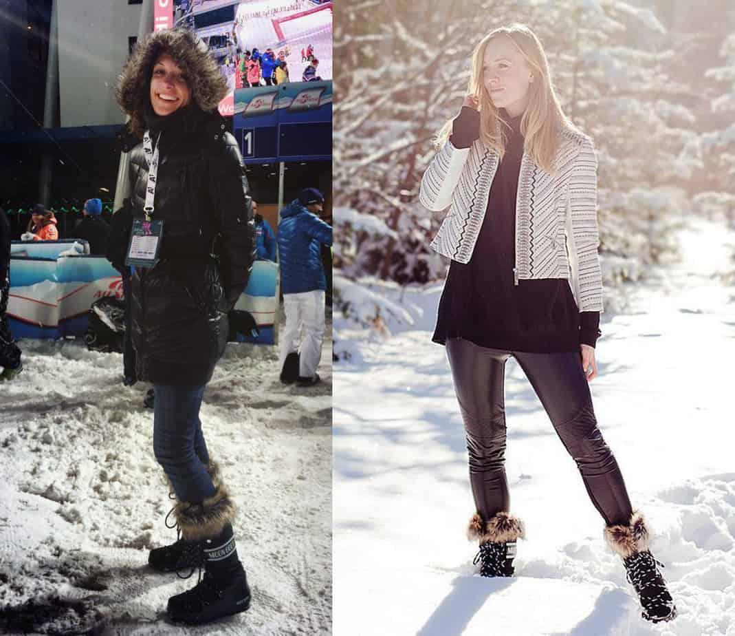 chaussuresonline-moonboot-marque-look-journée-soirée-neige-hiver-froid-bordeaux-noir-blanc-mbwemonacolow