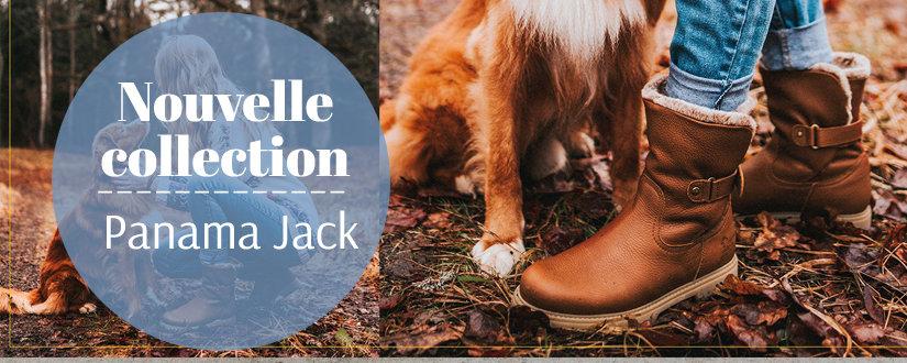 Boots nouvelle collection Panama Jack