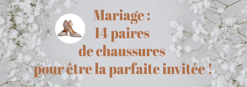 Mariage : 14 paires de chaussures pour être la parfaite invitée !